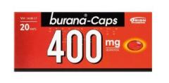 BURANA-CAPS 400 mg kaps, pehmeä 20 fol